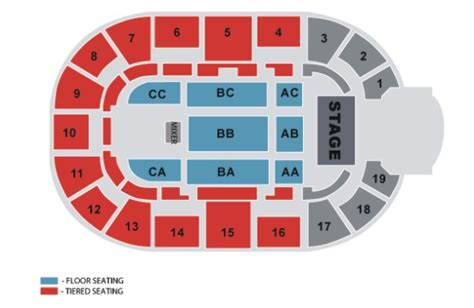 nottingham arena floor plan capital fm arena nottingham