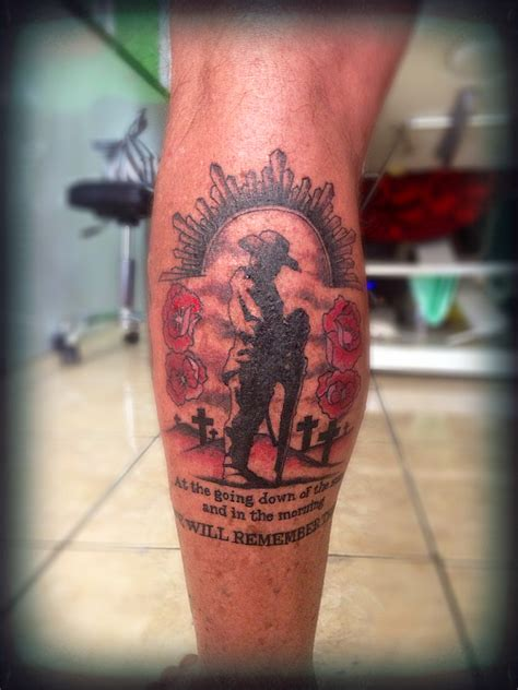 anzac tattoo designs lest we forget goerat studio bemo corner kuta bali