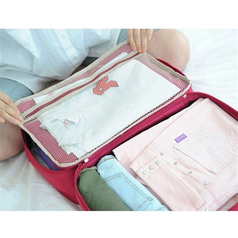Tas Travel Travel Bag Murah Tas Travel Bag In Bag Organizer Pakaian Polyester