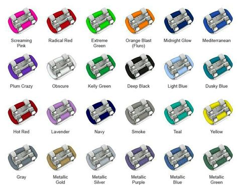 rubber band colors for braces best 25 expanders for teeth ideas on braces
