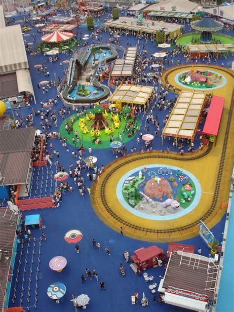 theme rec list rct3 pok 233 park japan recreation theme park review
