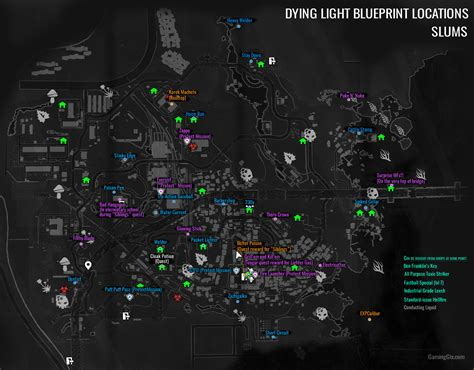 bobblehead dying light can anyone provide me a map of the quarantine zones i