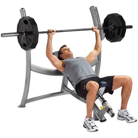 incline bench presses cybex olimpic incline bench gym source