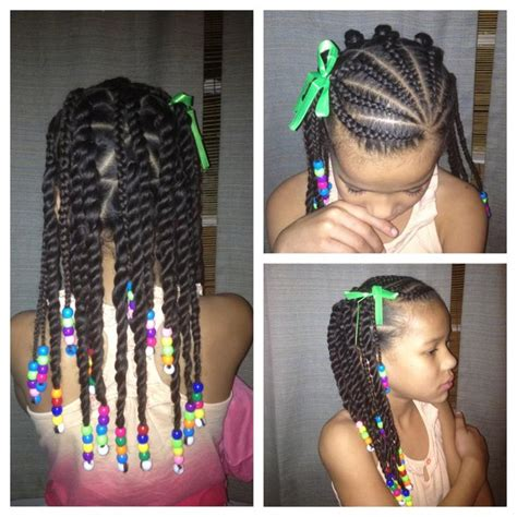 hairstyles with braids and beads little girl hairstyles braids protective hairstyle
