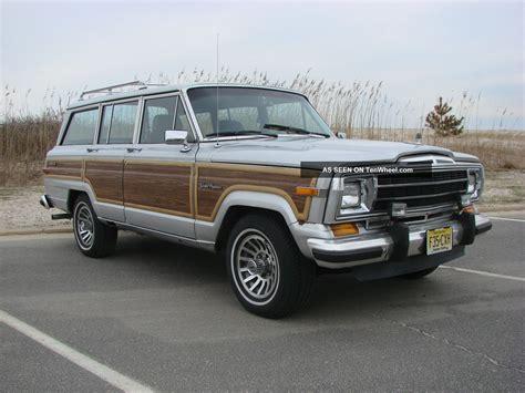 1989 jeep wagoneer 1989 jeep grand wagoneer base sport utility 4 door 5 9l
