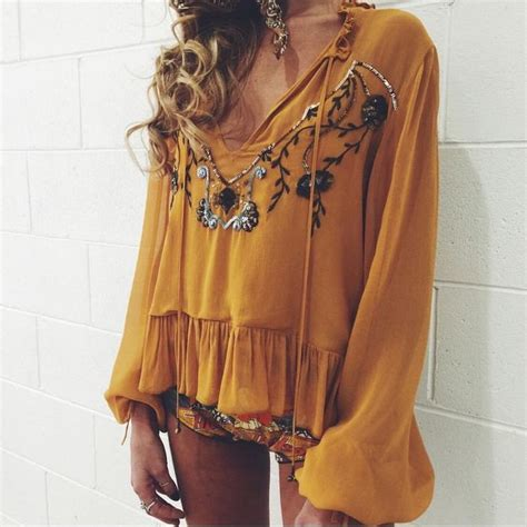Blouse Cewek Viera Mustard 1000 images about style on rompers cutoffs and summer dresses