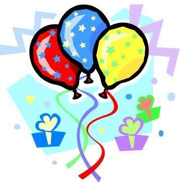 8th Birthday Clipart