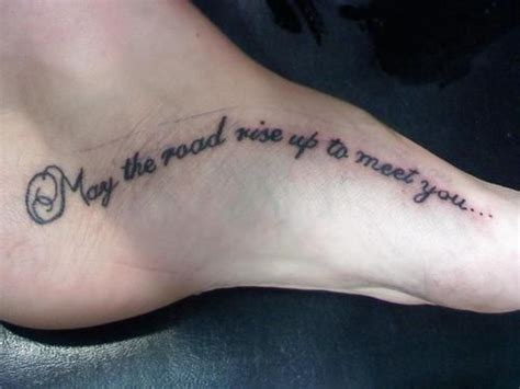 irish blessing tattoo i this may the road rise up to meet you may the
