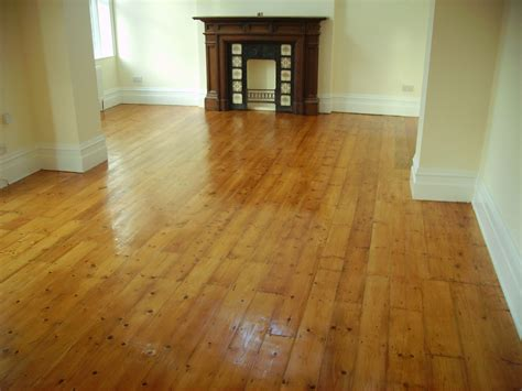 Pine Floors Stained by Staining The Flooring Company
