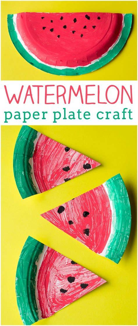 Watermelon Paper Craft - 25 best ideas about watermelon crafts on