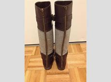 Lc Lauren Conrad Brown, Grey Boots Riding Boot Size 8 60% ... Reviews About Tradesy