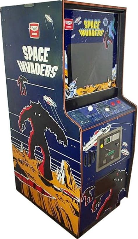 Space Invaders Cabinet by Midway Pcb In A Taito Space Invaders