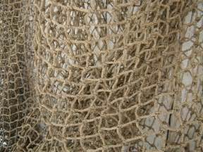 authentic used fishing net 12 x12 fish netting heavy