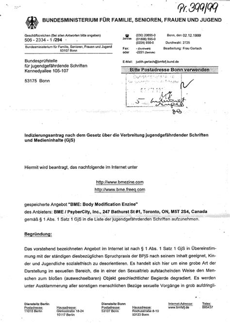 Offer Letter German Germany Hates Bme