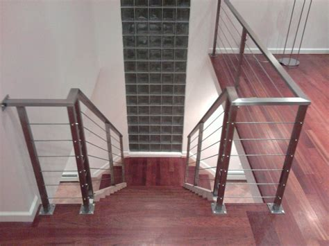 Stainless Steel Wire Handrails crafted stainless steel cable railing by laidman fabrication custommade