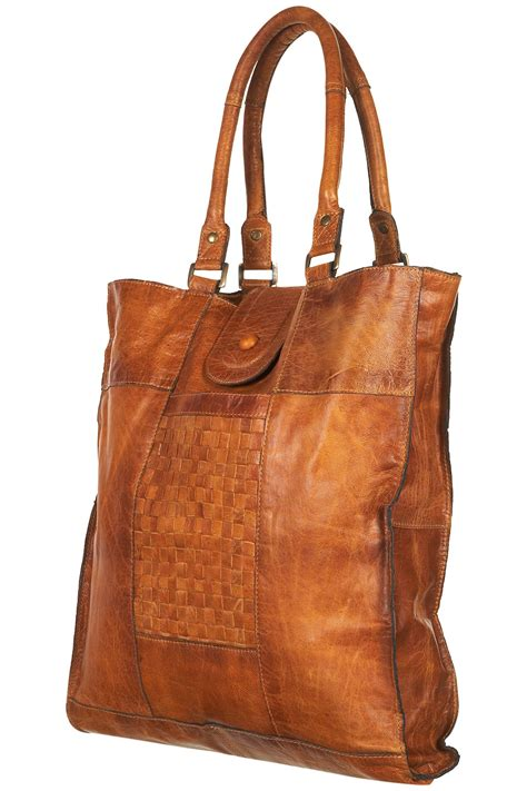 Bag Zara Premium Sag4110 leather tote bag topshop brown leather tote bag