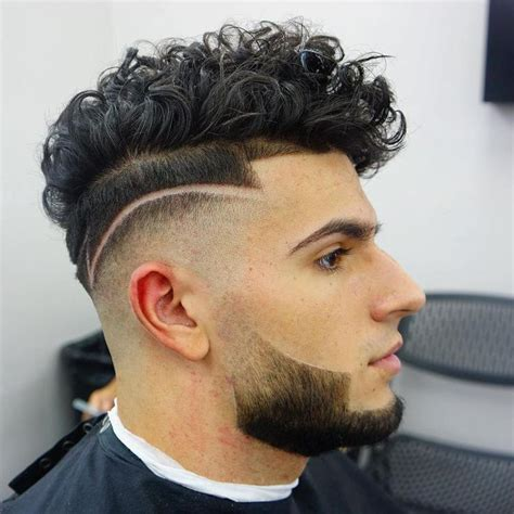 mens combover haircuts with tramline image 25 best ideas about men curly hairstyles on pinterest