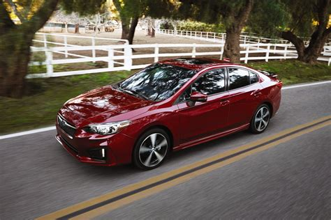 2017 subaru impreza hatchback red the 2017 subaru impreza will come in two body