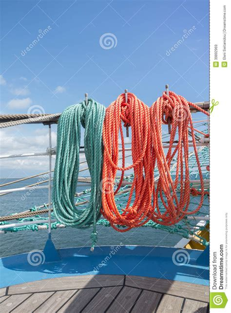 sailing boat elements elements of equipment of a yacht stock photo image 39892969