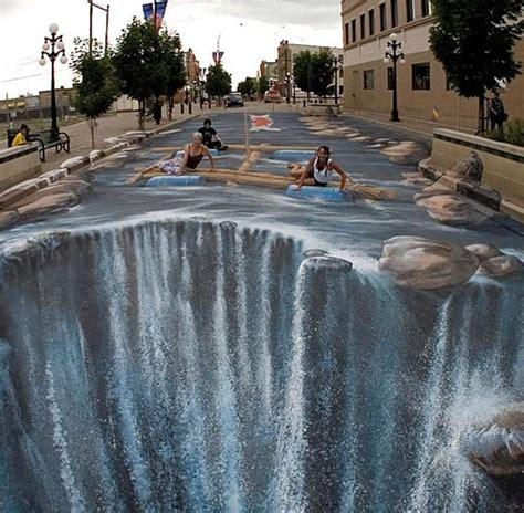 3d paintings wordlesstech 3d street art by edgar muller