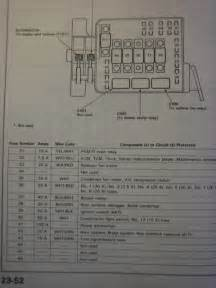 integra fuse diagram honda tech honda forum discussion