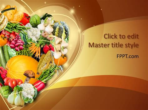 Free Food Powerpoint Templates Powerpoint Food Templates