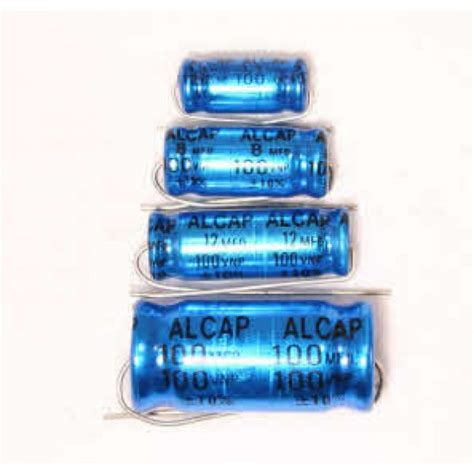 capacitor x 72 alcap 72 00uf 100v dc high power electrolytic capacitor non polarised series from falcon