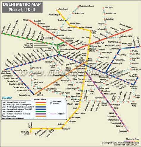 Mba In Delhi Metro by Dmrc Map Phase 3 Plan 2018 2019 Studychacha