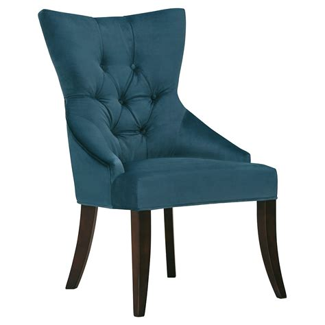 Blue Upholstered Armchair City Furniture Sloane Dk Blue Upholstered Arm Chair