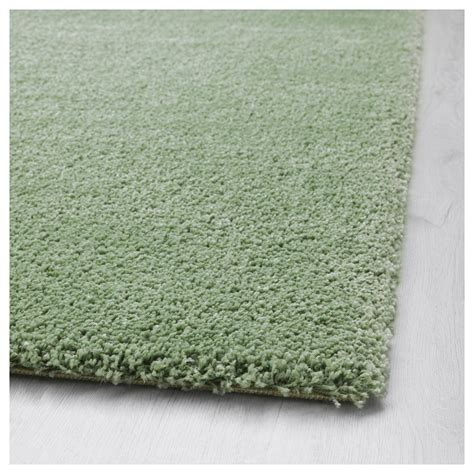 green rugs ikea 197 dum rug high pile light green 170x240 cm ikea