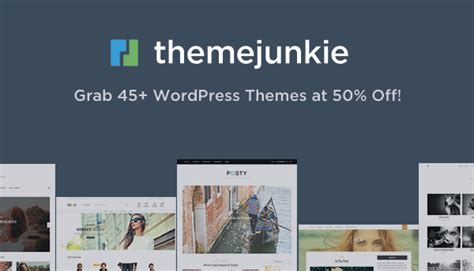 theme junkie deals wordpress black friday cyber monday deals 2016 wp mayor