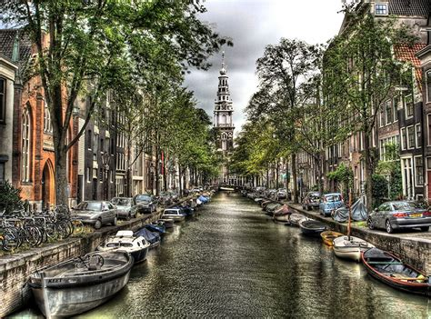 free boats amsterdam pictures amsterdam netherlands hdri canal boats cities