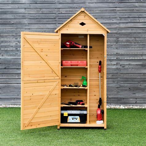 premium outdoor tool storage garden vertical cabinet