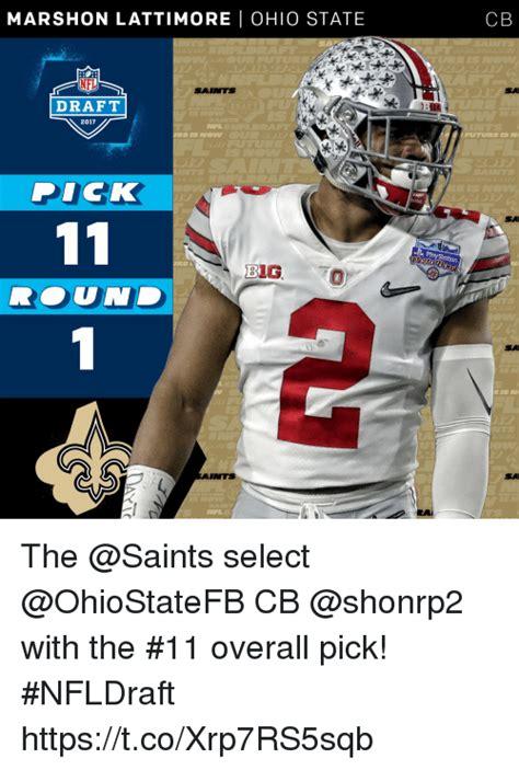 Ohio State Memes 2017 mars hon lattimore ohio state nfl saints draft 2017 a reis
