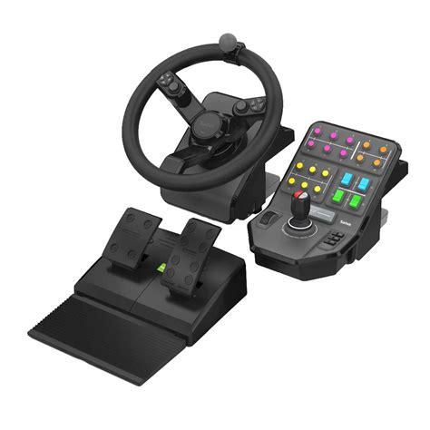 logitech  saitek farming simulator controller volant pc logitech sur ldlccom
