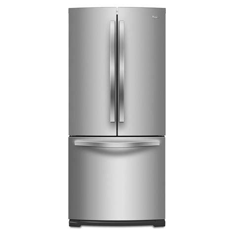 door refrigerator sears outlet whirlpool wrf560smym 19 7 cu ft door bottom