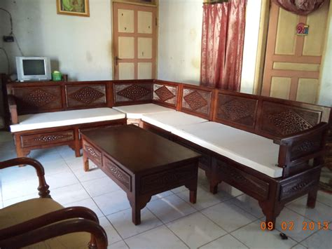 Set Sofa Bed Meja Kursi Tamu Sudut Minimalis Furniture Living Room cara mudah memilih almari sudut terbaik sunni jati mebel