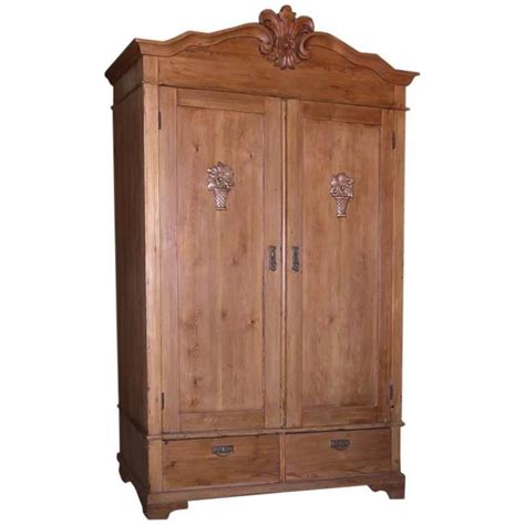 vintage armoires antique armoire with carved details for sale at 1stdibs