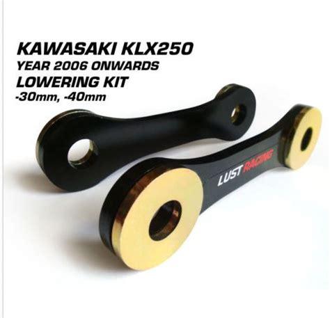 Lowering Kit Kawasaki 250 Z250 Monosl lowering kit kawasaki klx250