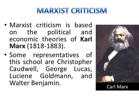 Marxist Criticism Essay by Image Gallery Marxist Criticism