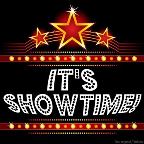 Its Showtime by Image Gallery It S Showtime Clip