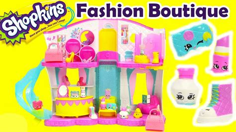 Shopkins Fashion Boutique 1 shopkins season 3 playset fashion boutique and unboxing 2 pack of 12s