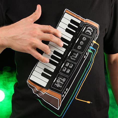 Csiro Wearable Instrument Shirt by Electronic Synthesizer T Shirt Puts A Mini Moog On