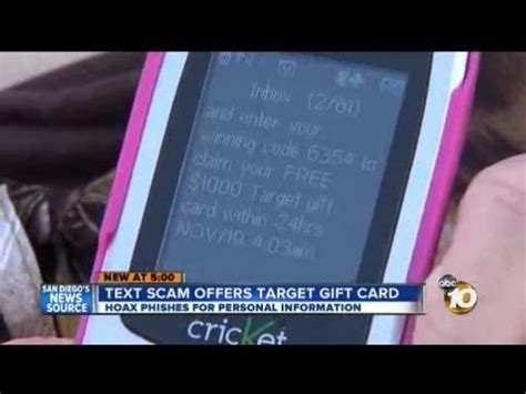 Irs Scam Target Gift Card - text message scam offering 1 000 target gift card youtube