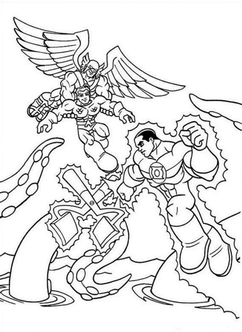dc super friends coloring pages coloring home