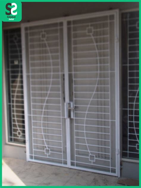Pelapis Pintu pintu besi minimalis bengkel las depok