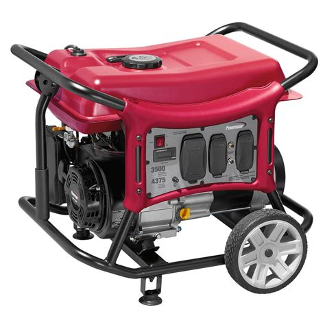 powermate cx series 3500 watt gasoline portable generator