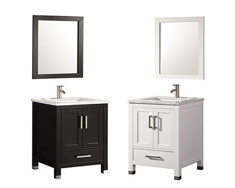 ricca 24 quot single sink bathroom vanity set