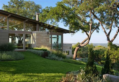 fantastic hillside home designs photos home decorating ideas hillside dwelling in texas with a fantastic indoor outdoor