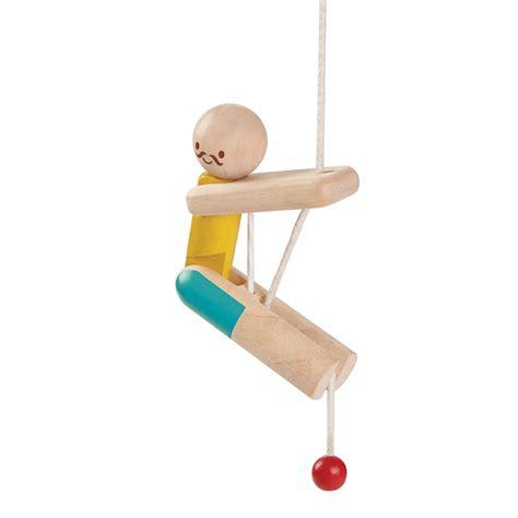 plan toys climbing acrobat